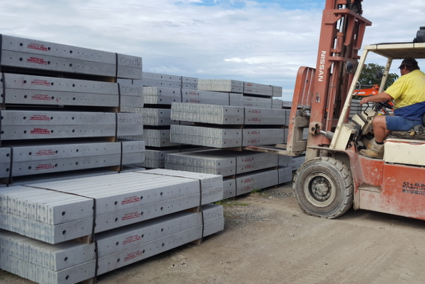 Australia's largest manufacturer of Prestressed Concrete Fence Posts