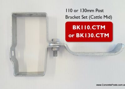 BK.CTM – Post Bracket Set (Cattle Mid)