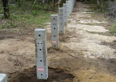 ACP Posts as Bollards Bundaberg 01
